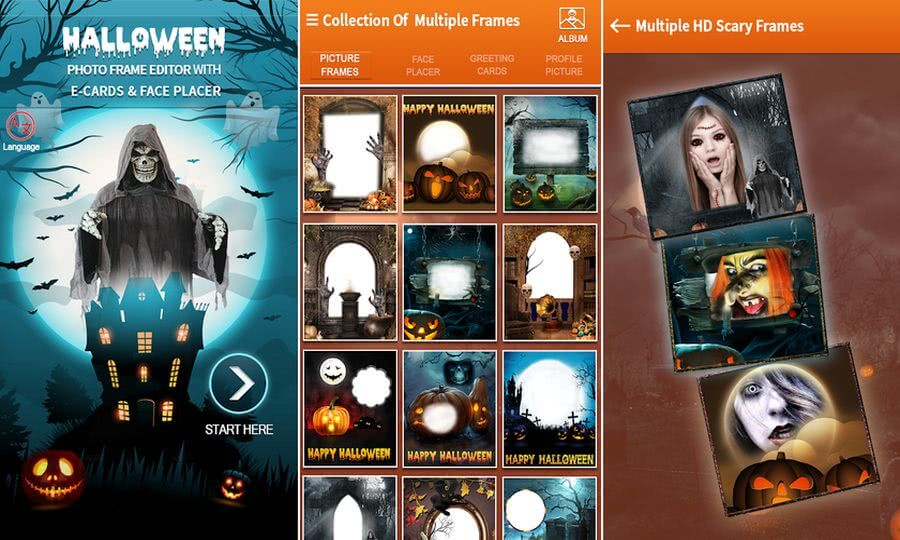Decorar fotos para Halloween 2020 con una app gratuita para Android