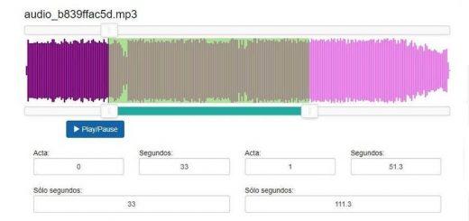 Cortar archivos de audio Mp3 online