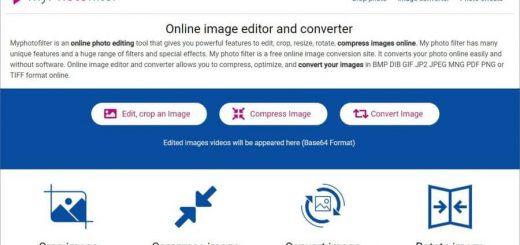 Editar imágenes online con MyPhotoFilter