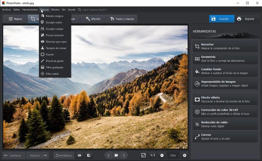 PhotoWorks: impresionante software para la edición de fotografías