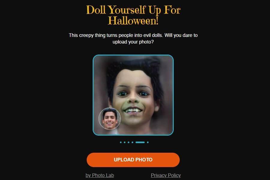 My Evil Doll: convertir personas en muñecos malvados para Halloween