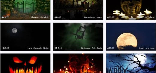 Plantillas de vídeos de Halloween gratis