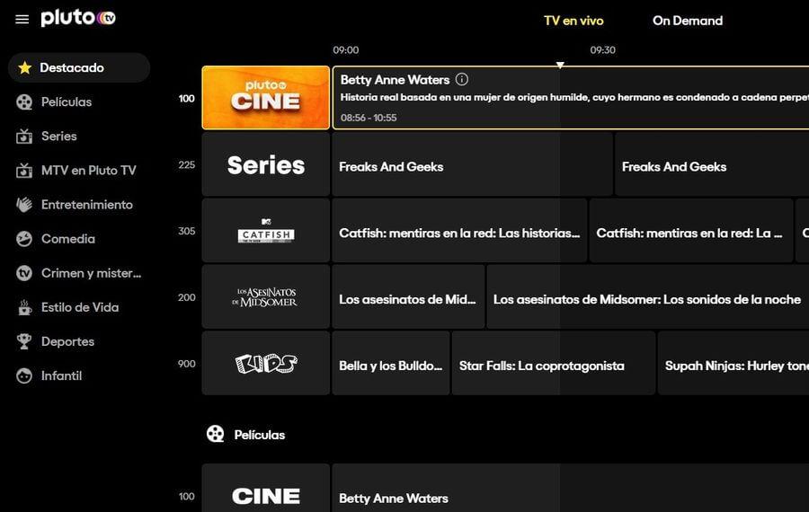 Pluto TV ya se puede ver en España desde su web y aplicaciones