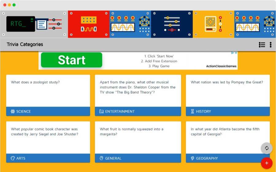 Random Trivia Generator: prueba tus conocimientos con juegos de Trivial aleatorios