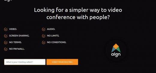 Videoconferencia gratuita con ALGN