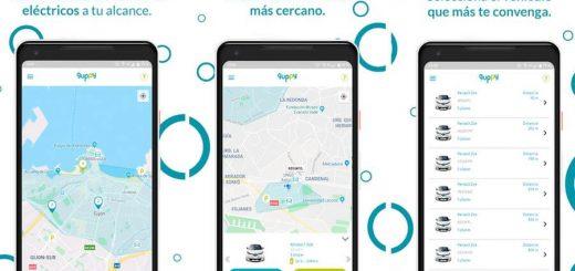 App de alquiler de coches de guppy