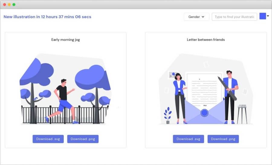 Ilustraciones gratuitas de calidad para usar en todo tipo de proyectos