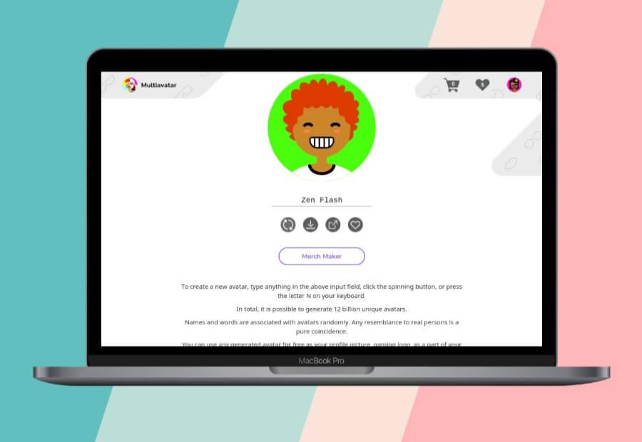 Multiavatar: un generador de divertidos avatares para tus perfiles