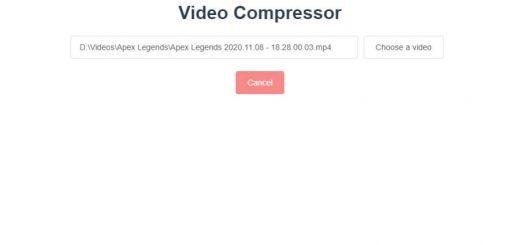 Programa gratuito para comprimir vídeos