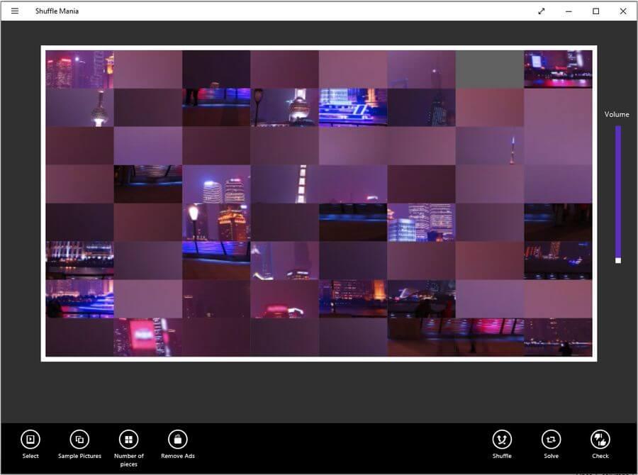 Shuffle Mania: un entretenido juego de puzzles para Windows 10