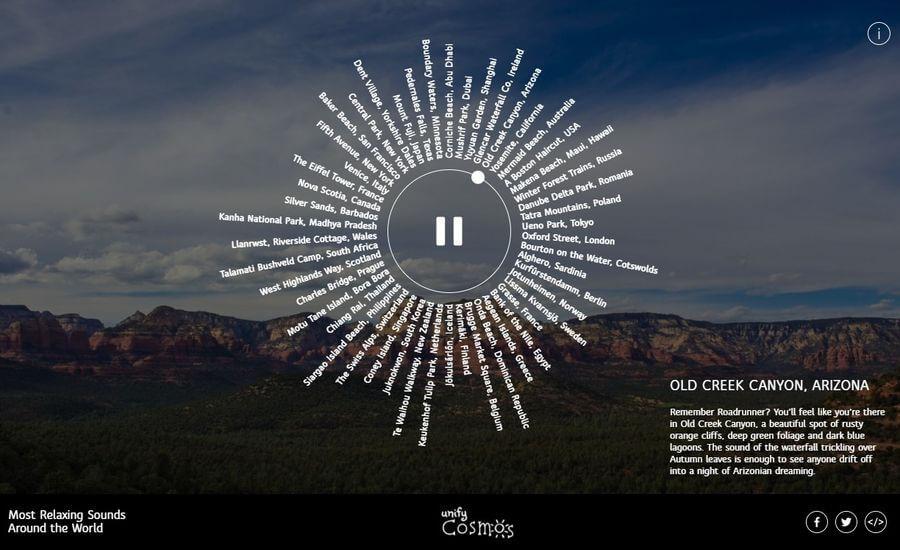Unify Cosmos: sonidos relajantes para emprender un viaje virtual