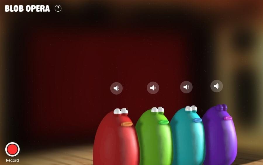 Blob Opera: herramienta experimental para crear canciones de ópera