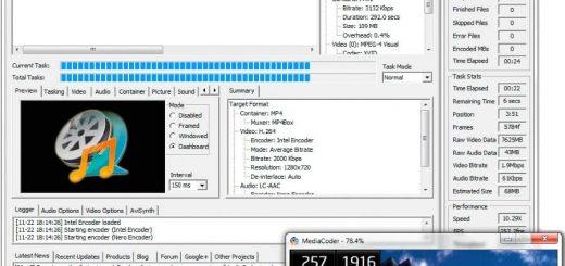 Convertir audio y vídeo con MediaCoder