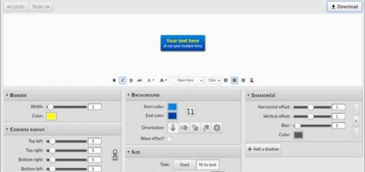 Crear botones PNG online y gratis