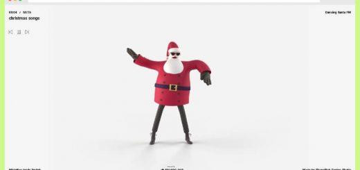 Dancing Santa FM