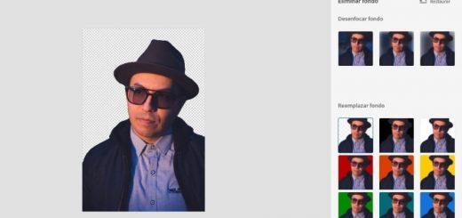Eliminar fondo con Photoshop Express