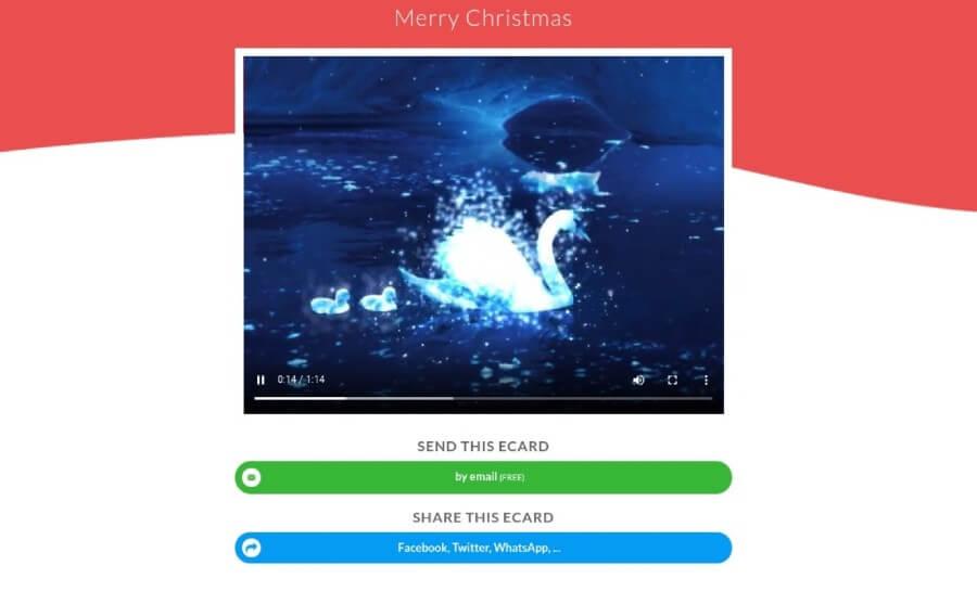 Enviar tarjetas de Navidad gratis para felicitar estas fiestas tan especiales
