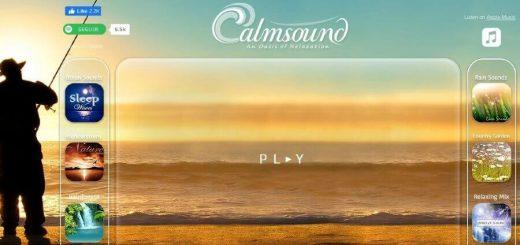 Escuchar sonidos gratuitos de la naturaleza en Calmsound