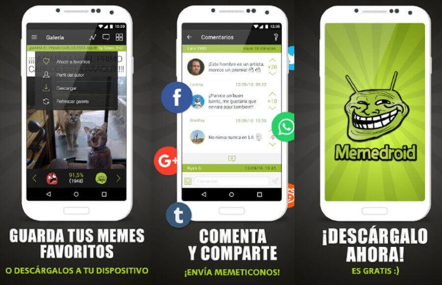 La mejor app para ver, crear y compartir memes en tu teléfono: Memedroid