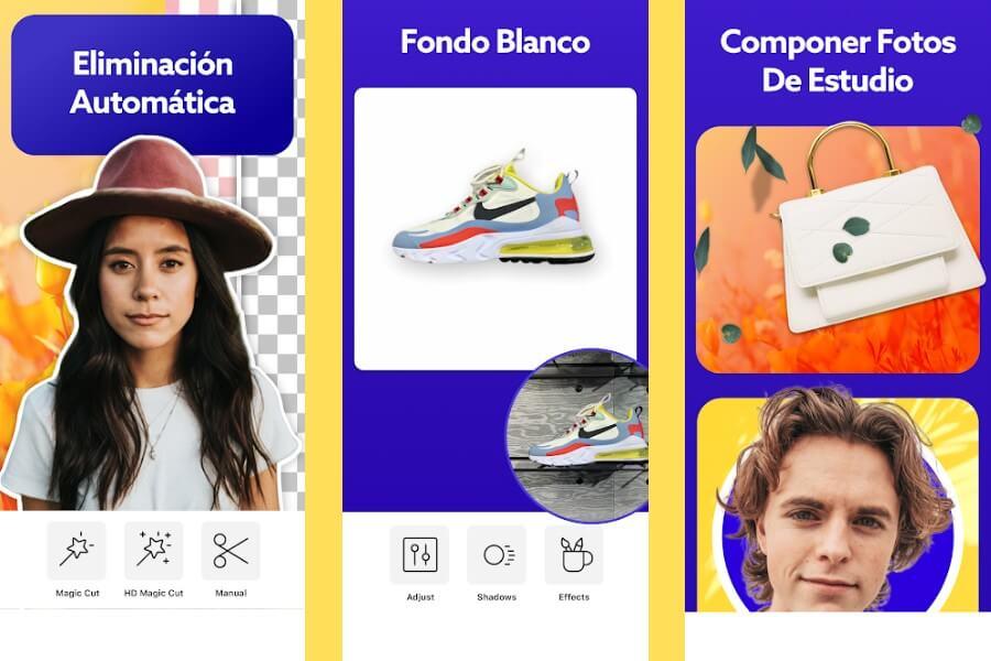 PhotoRoom: elimina el fondo y edita imágenes en tu Android o iPhone