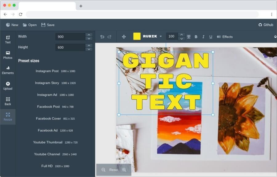 Polotno Studio: herramienta gratuita de diseño para todo el mundo