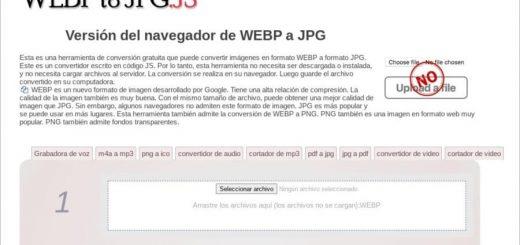 WebP to JPG JS