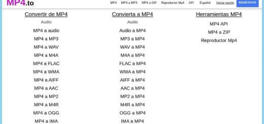 Herramientas gratuitas para convertir a MP4