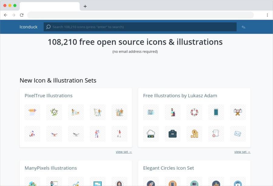 Iconduck: más de 100000 iconos gratuitos para usar en tus proyectos