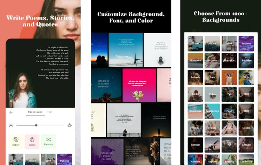 Flips: aplicación Android gratuita para crear hermosas imágenes con texto