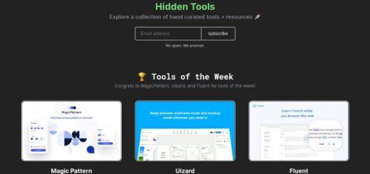 Hidden Tools