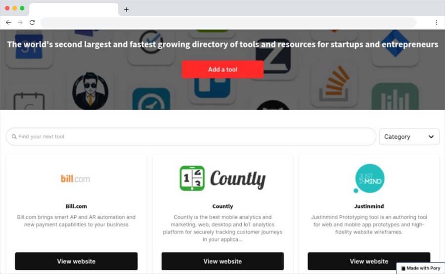 Startup Lyst: herramientas seleccionadas para startups y emprendedores