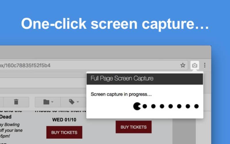 GoFullPage: una extensión de Chrome para captura de página completa
