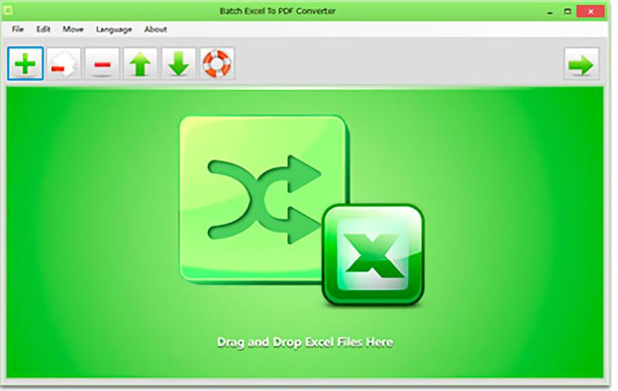 Batch Excel to PDF Converter: convierte archivos de Excel a PDF por lotes