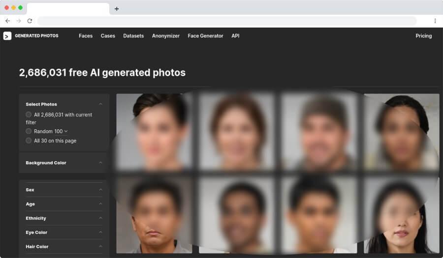 Face Generator: un generador de rostros de personas que no existen