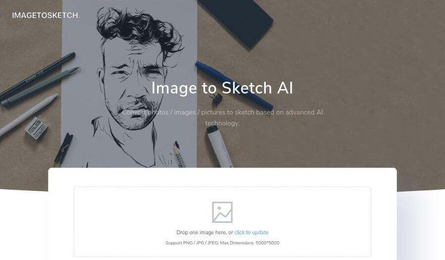 Image to Sketch AI: convertir imágenes y fotografías en dibujos a mano