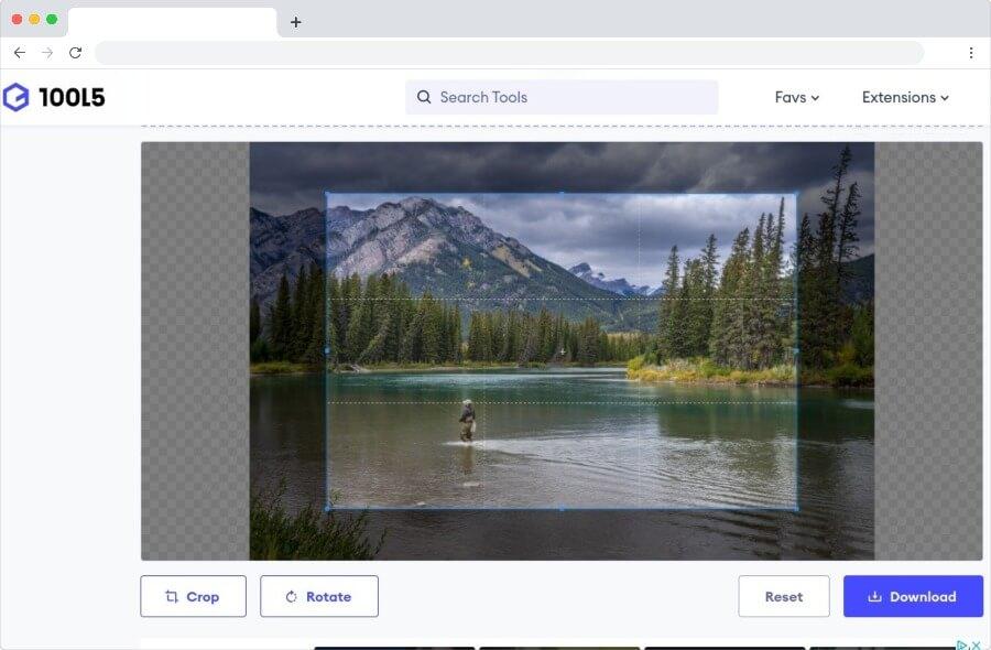Online Image Cropper: sencilla utilidad web para cortar imágenes y fotos