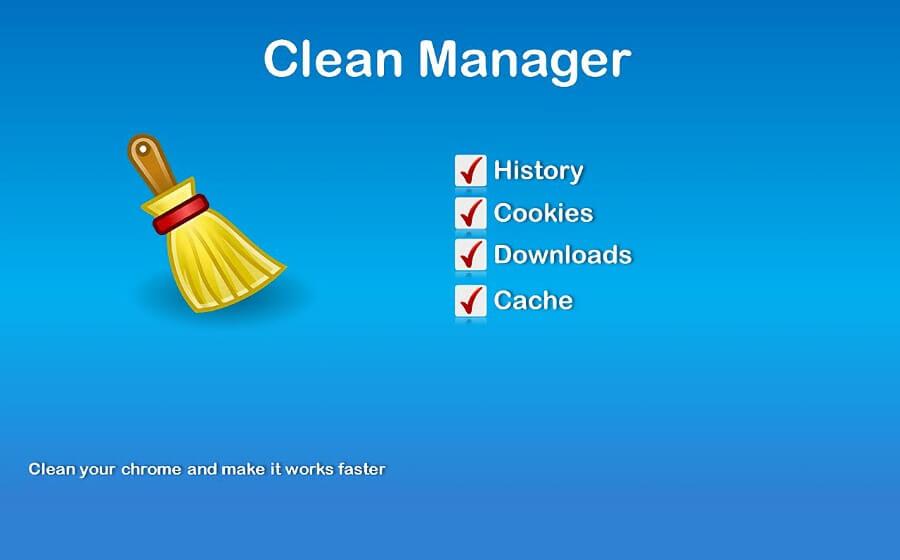 Clean Manager: una extensión para mantener Chrome limpio y rápido