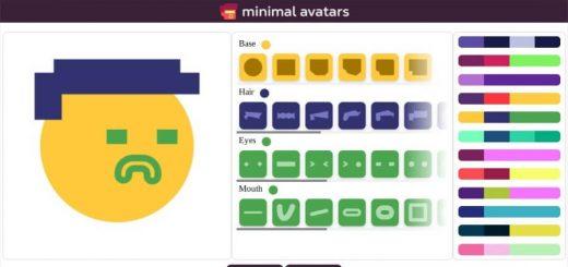 Minimal Avatars