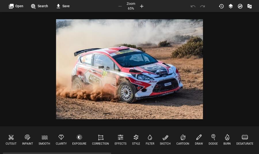 PhotoKit: un impresionante editor de imágenes en línea y gratuito