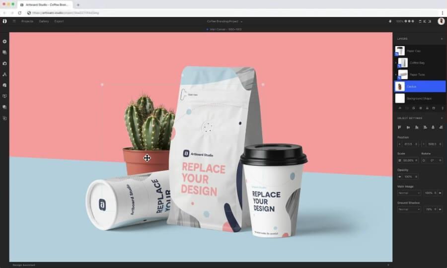 Artboard Studio: crea gratis bonitos mockups para presentar tus productos