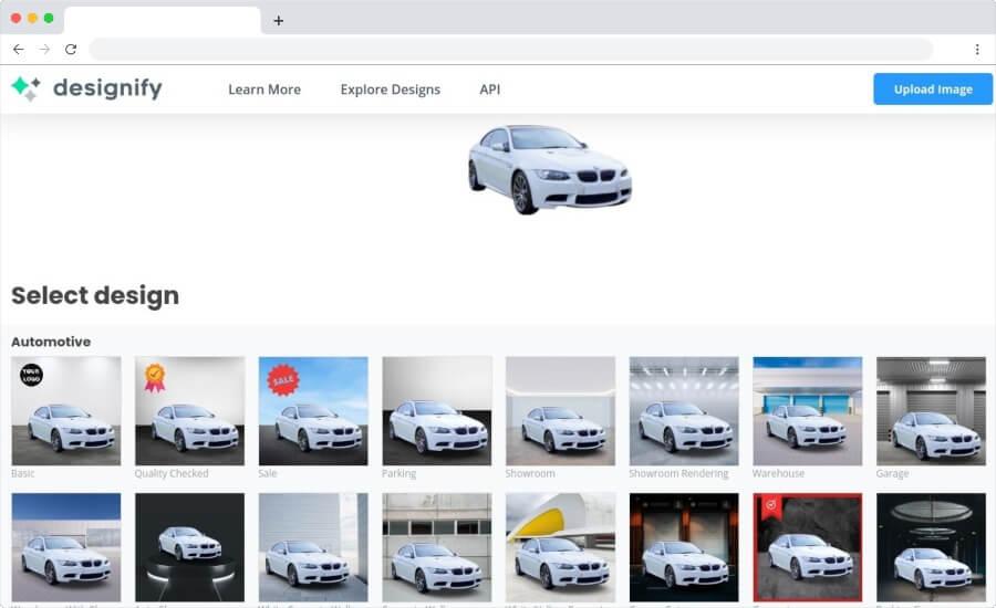 Designify: convierte fotos en diseños impresionantes de forma automática