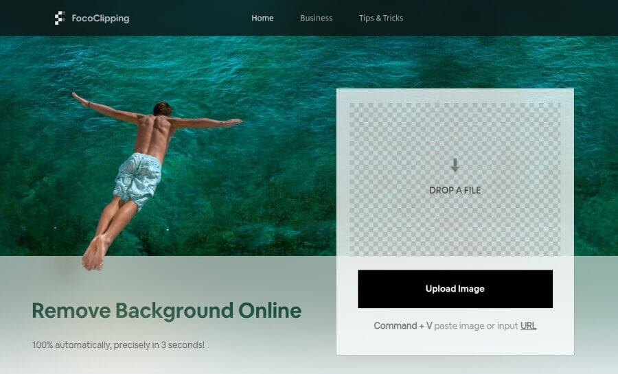 FocoClipping: eliminar o reemplazar el fondo de las fotos de forma gratuita