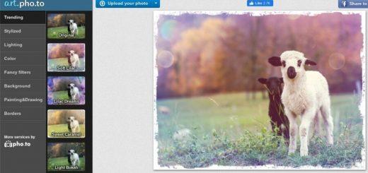 Hermosos filtros para fotos