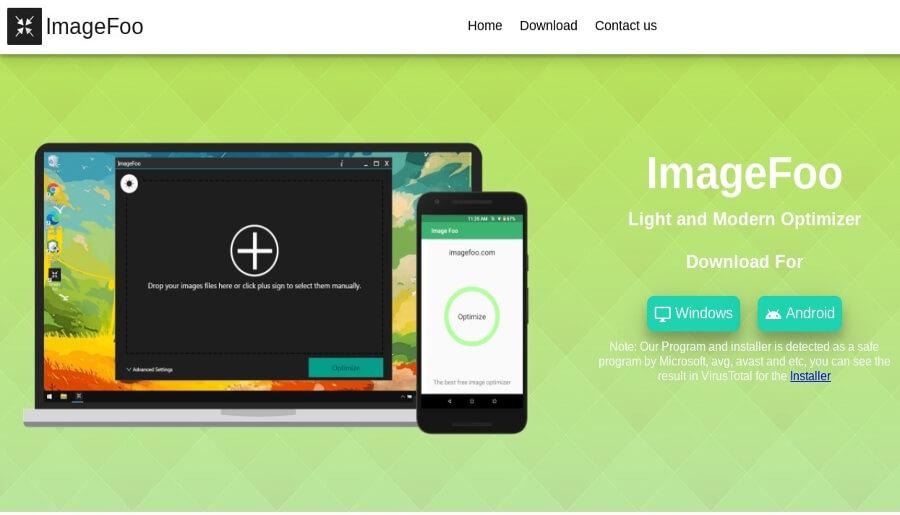 Image Foo: programa gratuito para comprimir imágenes y reducir su peso