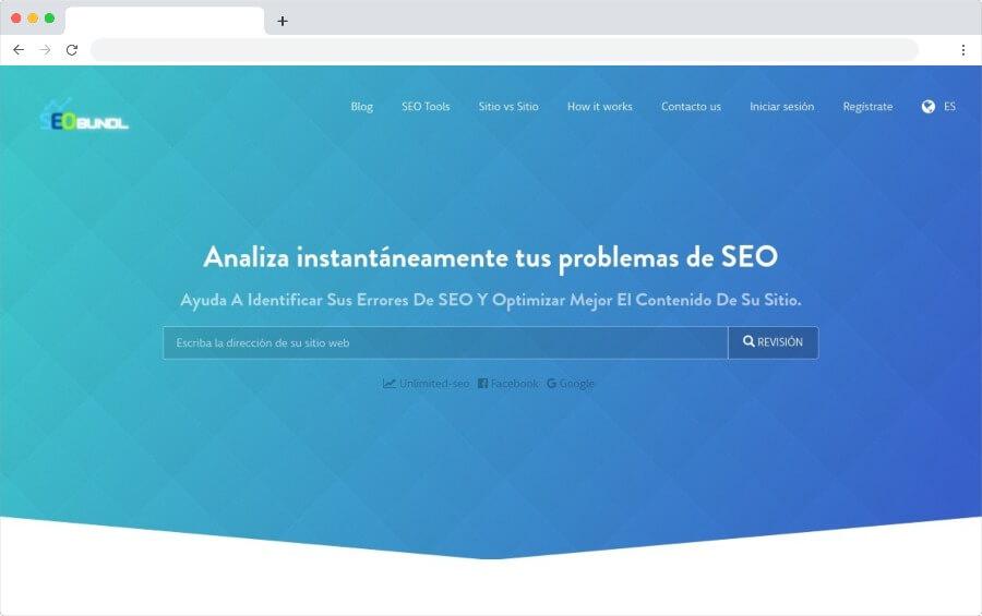 SEO Analyzer: análisis detallado y gratuito del SEO de tus sitios