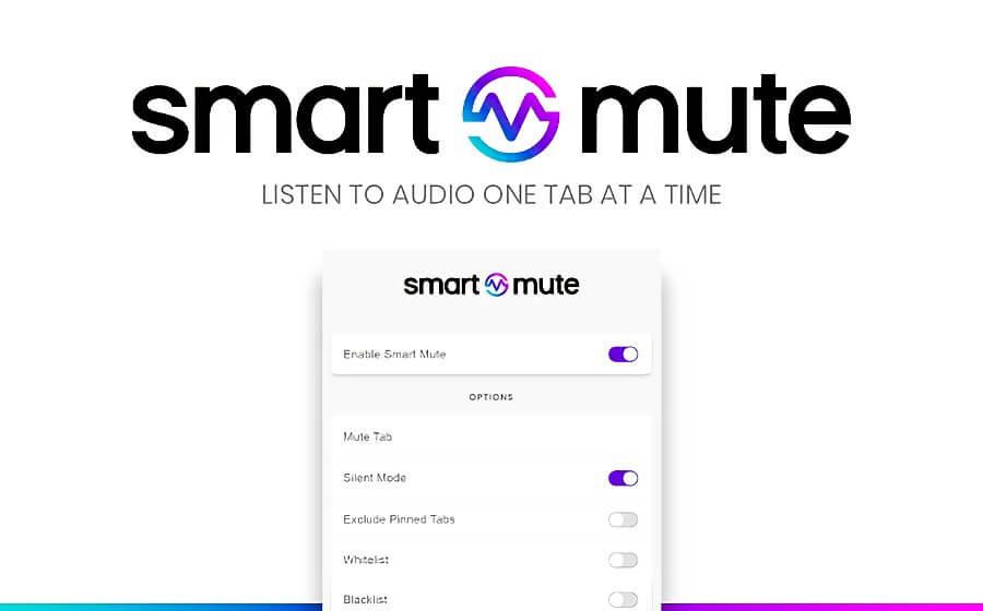Smart Mute: extensión de Chrome que te ayuda a silenciar las pestañas