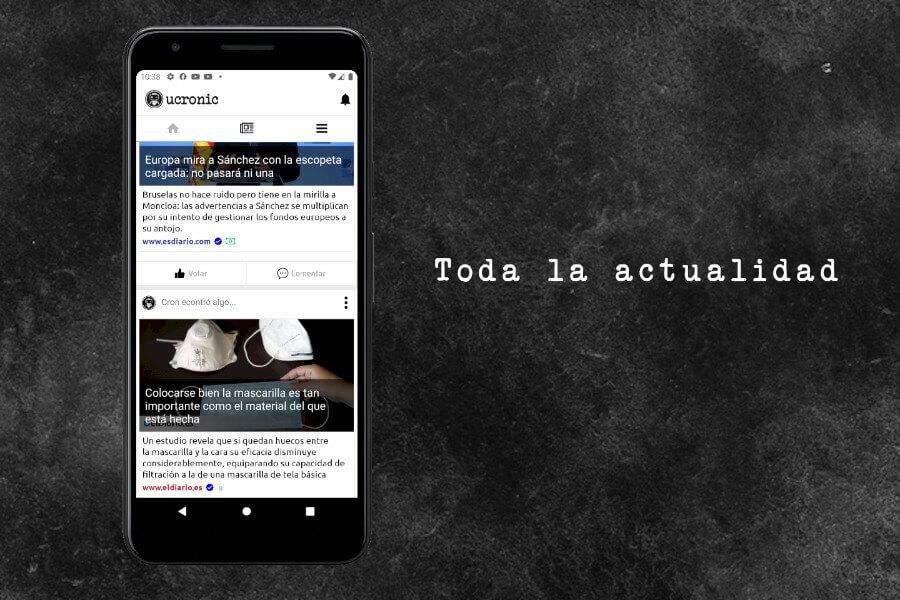 Red social de noticias para estar siempre informado e interactuar con otros usuarios