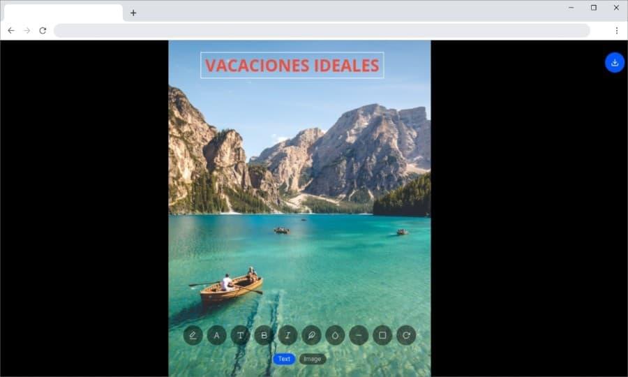 Captionn: herramienta web gratuita para crear bonitas imágenes con texto
