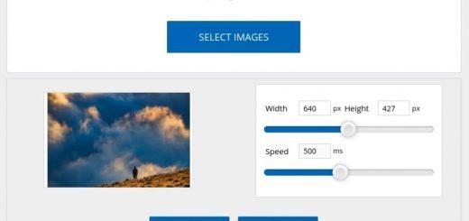 Crear animación GIF online