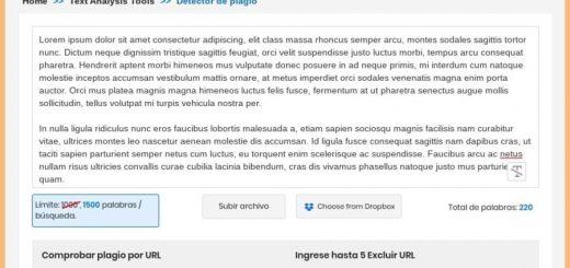 Detector de plagio gratis y online